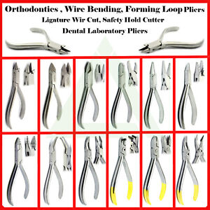 Orthodontics-Loop-Forming-Wire-Bending-Pliers-Arch-Wire-Ligature-Braces-Cutters