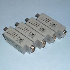 ALLIED TELESYN INTERNATIONAL 12V FIBER OPTIC TRANSCEIVER AT-MX26F *LOT OF 4*