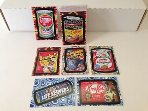 c1d99ba9331 WACKY PACKAGES FLASHBACK SERIES 2 (Topps 2008) COMPLETE STICKER CARD ...