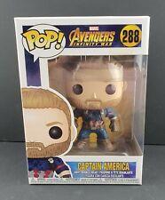 Funko Pop Marvel Avengers Infinity War Captain America #288Vinyl Figure