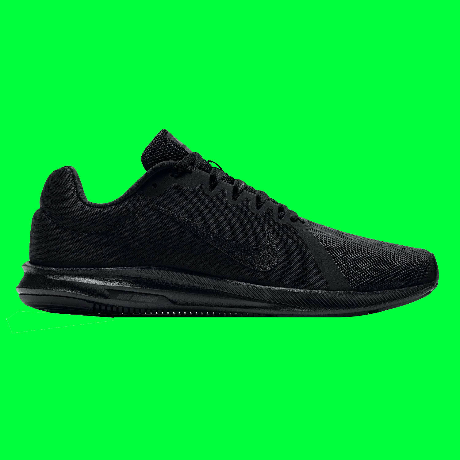 NEW - Nike Downshifter 8 Men's Running shoes - Size 10 - Wide 4E - Black Black