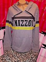 Victorias Secret Pink Mizzou Tigers Bling Hoodie Large