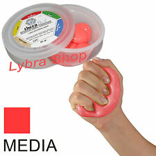 Msd PASTA rossa MEDIA 85g Comprimibile atossica THERAFLEX PUTTY mano dita