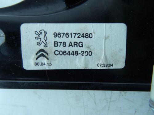 Citroen C4 Grand Picasso MK2 13-17 LH NS passagers Côté Arrière Fenêtre RÉGULATEUR