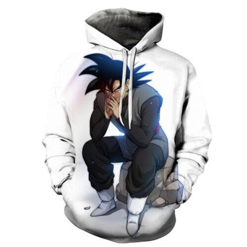 Dragon Ball Z Goku Vegeta 3D Print Anime Hoodie Sweatshirt Mens Pullover Hoodies