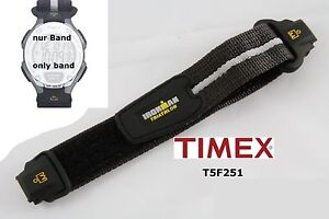 Timex-Replacement-band-T5F251-IronMan-Triathlon-Flix-30-lap-24-mm-Touch-fastener