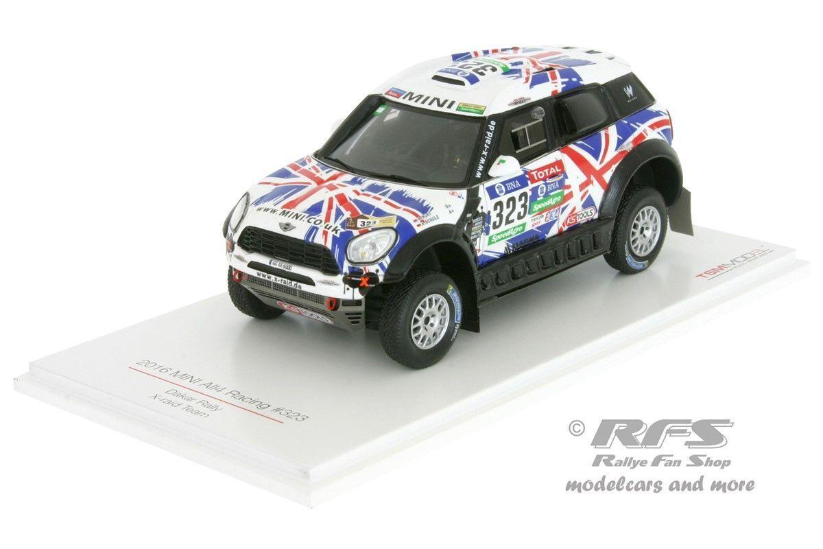 MINI all4 Racing UK Rally Dakar 2016 Harry Hunt - 1:43 TSM MODEL 430238