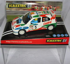 SCALEXTRIC 6007 TOYOTA COROLLA WRC #5 MOVISTAR CARLOS SAINZ-LUIS MOYA MB