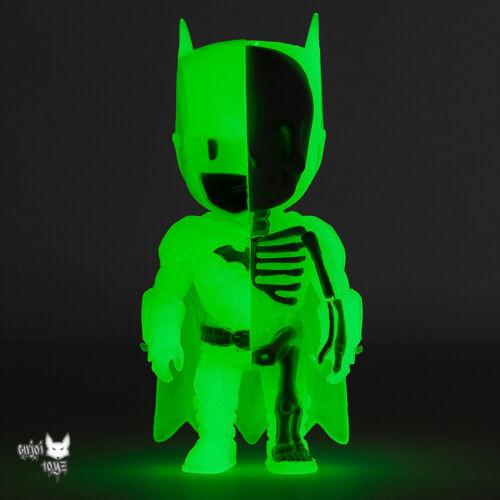 Kidrobot Exclusive Brand New Mighty Jaxx XXRAY GID Batman by Jason Freeny