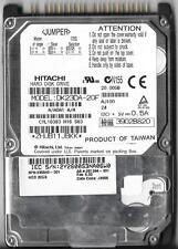 "HITACHI DK23DA-20F 20GB ATA/IDE 2.5"" HARD DRIVE AJ100 A/A0A1 A/A"