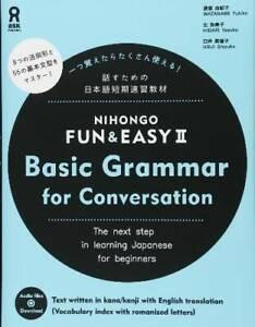 Details about NIHONGO FUN EASY II Basic Grammar for Conversation Free CD  JAPAN