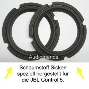 Repair-Kit-JBL-Control-5-2x-backs-1x-Glue-1x-Brush-gt-gt-special-offer-lt-lt