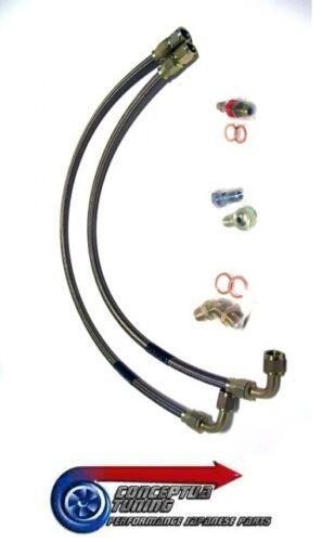 Durit Turbo eau alimentation /& retour lignes pour R34 GTT Skyline RB25DET Neo
