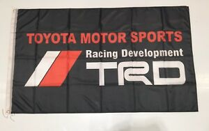 TRD Toyota Racing Development Turbo Car Drift JDM Wall Decal Full Colour Sticker