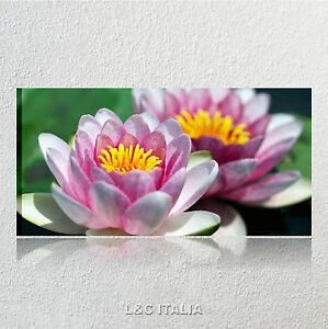 Fiore di loto QUADRI MODERNI 90x45 ARREDAMENTO CASA QUADRO STAMPA ...