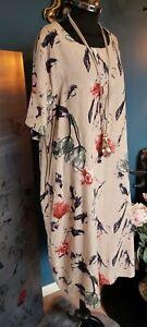 CELMIA cotton tunic or short dress  Lagenlook OSFA fit  14 16 18 20  XXL NEW