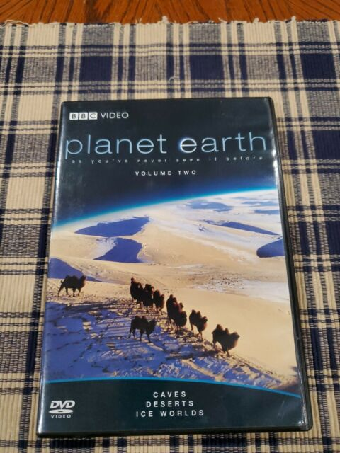 Planet Earth Vol 2 DVD Caves/Deserts/Ice Worlds BBC Nature Documentary