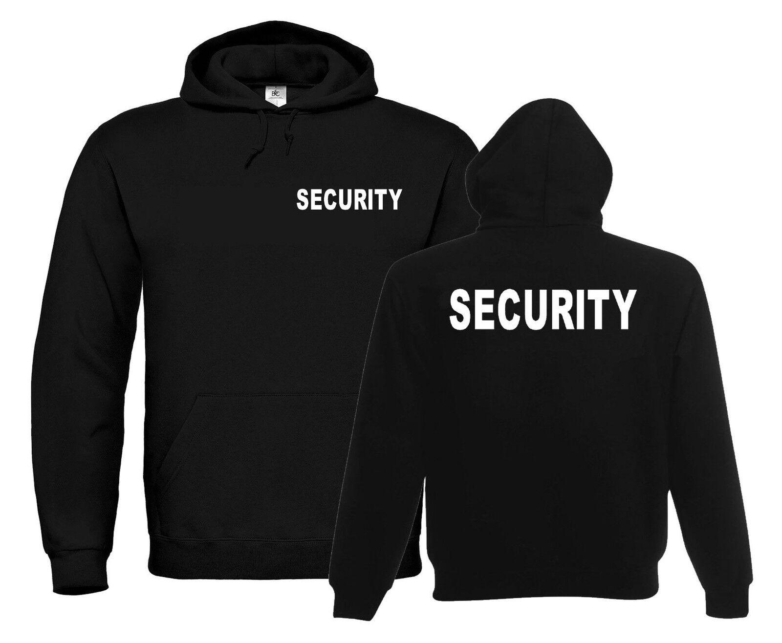 Security Kapuzen-Sweatshirt | Hoodie | Sicherheitsdienst | Wache        747-3-