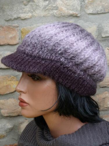 Damen Mütze Strickmütze Beanie Schirmmütze Ballonmütze warm trendig Farbauswahl