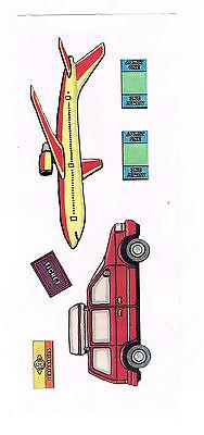 CREATIVE MEMORIES TRAVEL #1 STICKER STRIP BN /& NLA
