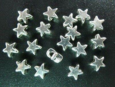 320 pcs Tibetan Silver tiny star spacer beads FC1418