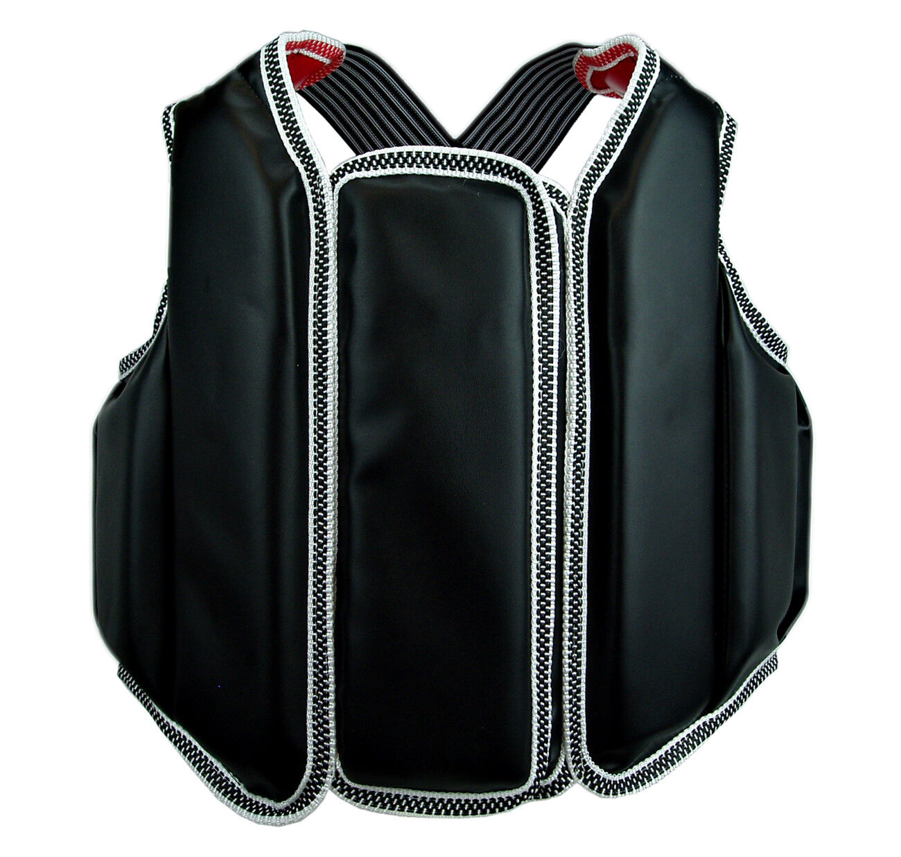 Martial Arts Chest Guard Vest with Hook and Loop Closure for Taekwondo Karate
