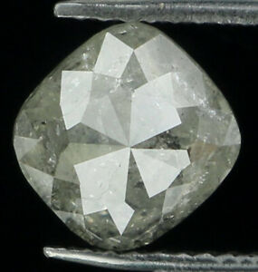 Natural-Loose-Diamond-Grey-Color-Cushion-I3-Clarity-5-80-MM-1-17-Ct-L6180