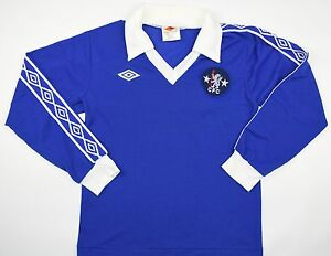 buy online c0a16 980a3 Details about 1977-1981 CHELSEA UMBRO HOME FOOTBALL SHIRT (SIZE Y)