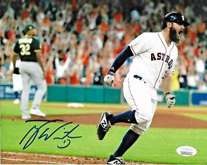 Tyler-White-Signed-8x10-Photo-MLB-Autographed-Houston-Astros-JSA-3