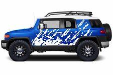 Custom Vinyl Decal Burst Wrap Kit for Toyota FJ Cruiser Parts 07-14 Matte White