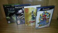 50 Pack Plastic Box Protectors For Dvd's, Wii U, Xbox, Ps2, Nintendo Gamecube
