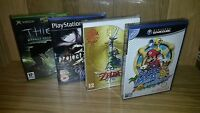100 Pack Plastic Box Protectors For Dvd's, Wii U, Xbox, Ps2, Nintendo Gamecube