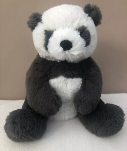 NEW-Jellycat-Medium-Harry-Panda-Black-White-Soft-Baby-Comfort-Soother-Toy-BNWOT