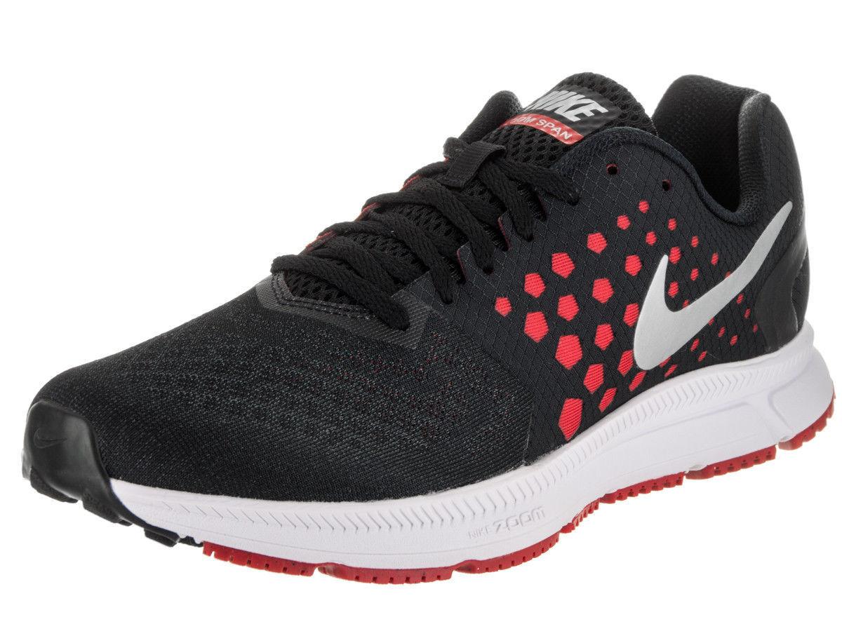 Mens Nike Zoom Span 852437-003 Black/Metallic Silver Brand New Size 14