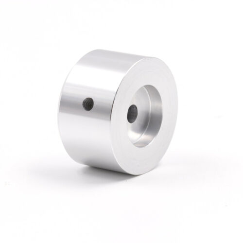 38x22mm solid aluminum amplifier volume knob,silver CNC machined 6.00mm shaft x1