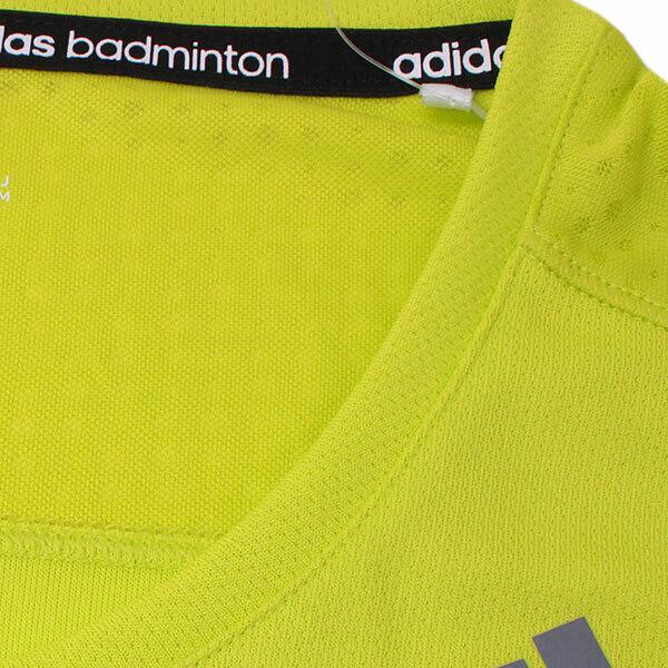 adidas Damen Sportshirt Clima Running Shirt Fitness Badminton Tee solar yellow