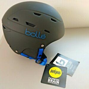 Bolle Snow/Ski Hybrid Helmet w/ MIPS Brain Protection Kids Small(51-55cm) Black