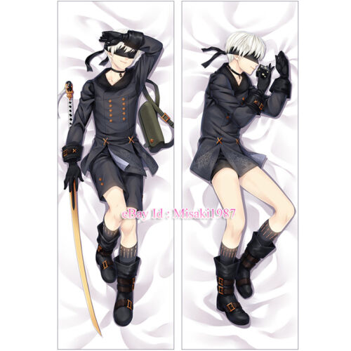 9 Type S 9S Dakimakura Anime Hugging Body Pillow Case 2 NieR Automata YoRHa No