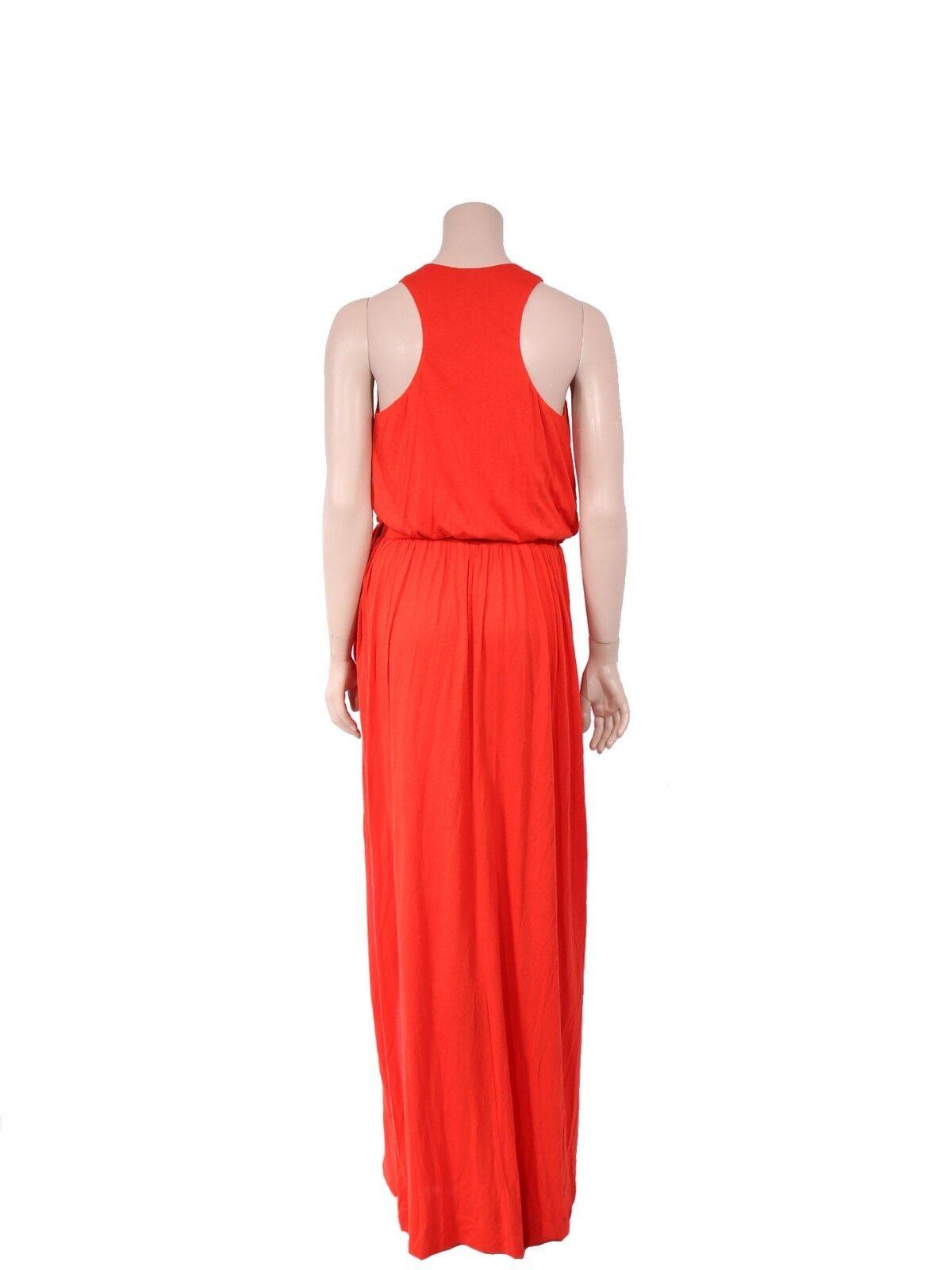 ROBERT RODRIGUEZ RODRIGUEZ RODRIGUEZ orange Maxi Dress (size small) 6e8474