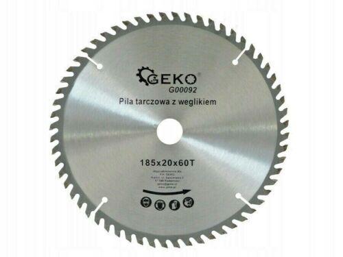 185mm x 20mm x 60T Top Quality Wood Cutting TCT Circular Saw Blade Disc 185x16mm