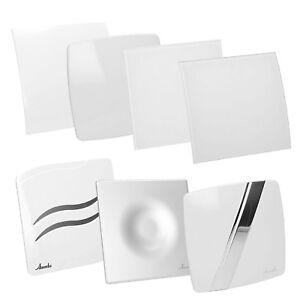 Badluefter-Kueche-WC-Wand-Ventilator-AWENTA-Kugellager-100-125mm-Weisse-Modelle