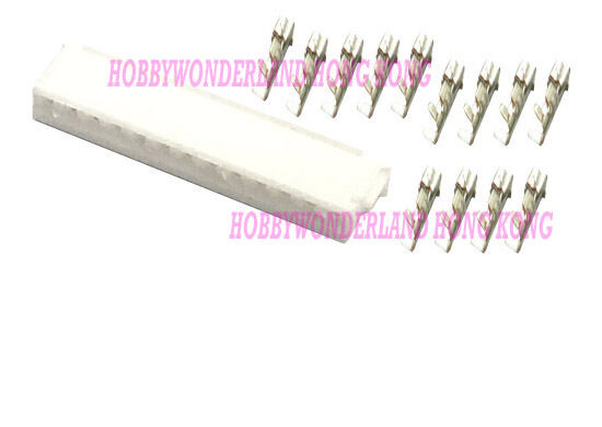 JST ZH 1.5mm Pitch 6-Pin Female Housing Connector Plug ZH Crimps Terminal x 20