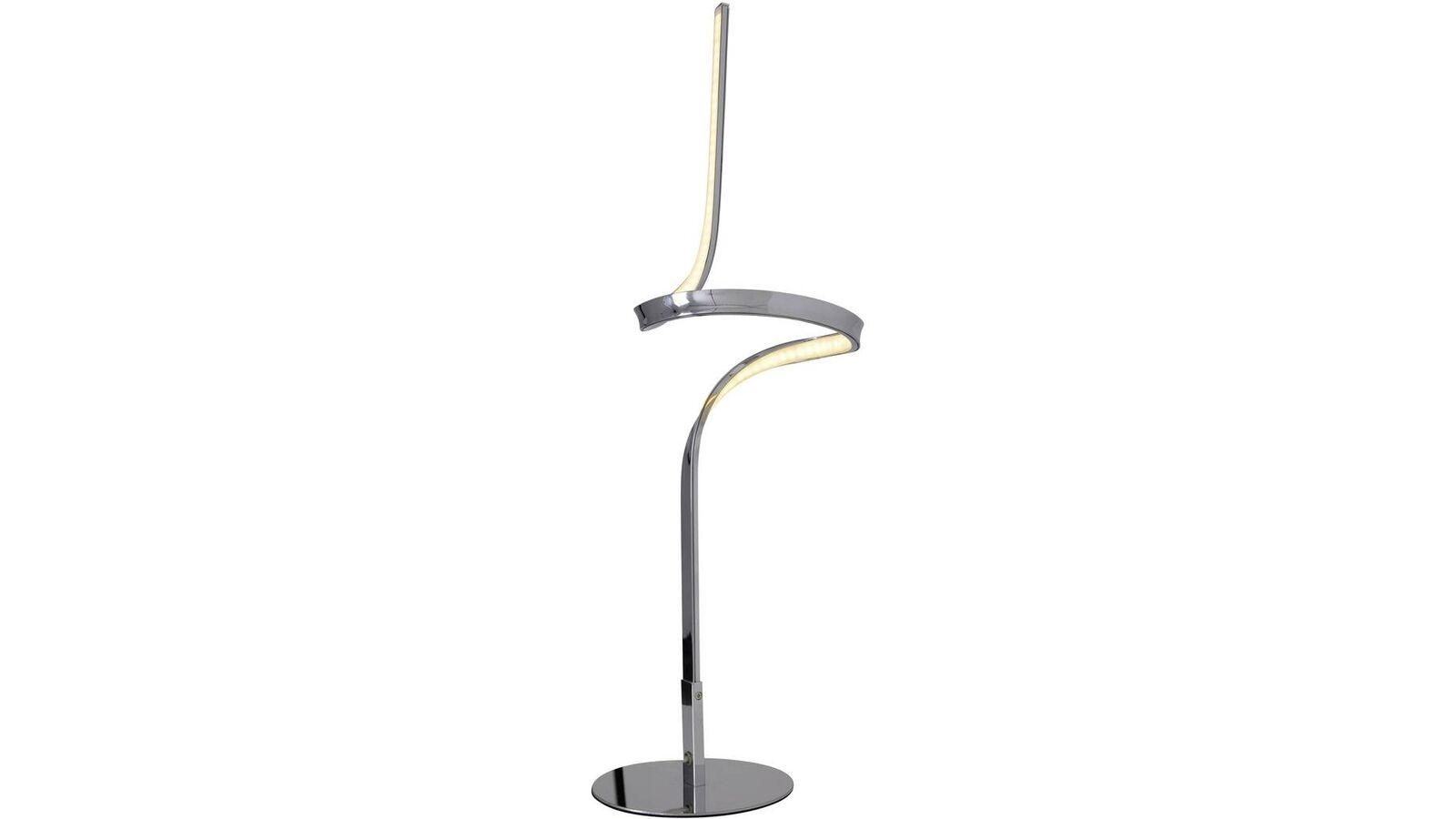 LED Tischleuchte Chrom 63cm Hoch 12W