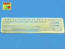 ABER 1/35 PE PHOTO-ETCHED BRACKETS SET for STUG.IV SIDE SKIRTS