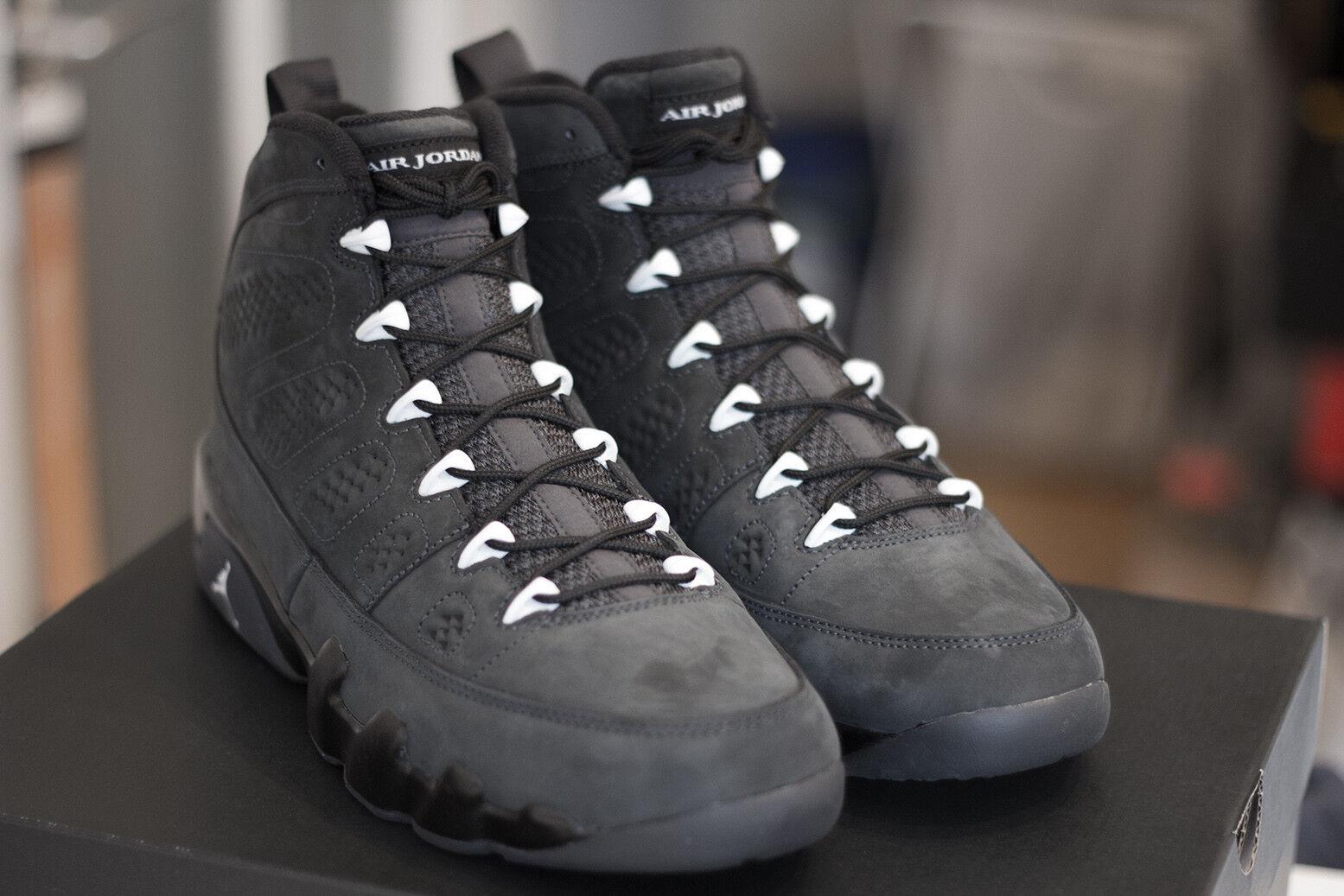 Nike Air Gris Jordan 9 Anthracite Grau Gris Air 10.5 44.5 3 6 5 10 2 Bin 23 302370 013 75d52b