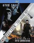 Star Trek 11 & 12 Into Darkness Blu-ray Region B
