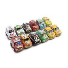 12Pcs Baby Kids Gift Mini Super Running Vehicle Toy Plastic Inertia Racing Cars