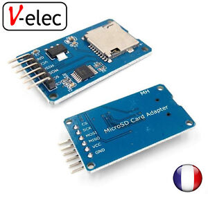 1007-Micro-SD-Card-Module-SPI-Interface-Mini-TF-Card-Reader-Writer-For-Arduino