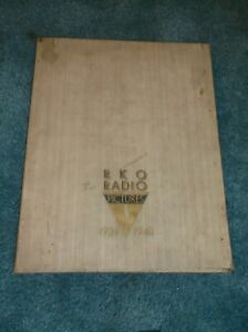 1939-40 RKO STUDIO PROMOTIONAL BOOK MAGNIFICENT & VERY RARE DON'T MISS IT!!!