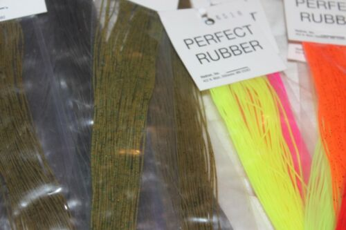 Fly Tying Hedron Flyman Perfect Rubber round silicon rubber legs M1